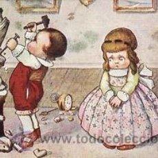 Postales: 17 POSTALES / POST CARD. A. BERTIGLIA. INFANTIL/CHILDREN'S. ITALIA. 1919.NO CIRCULADA / NON POSTED. Lote 32936205
