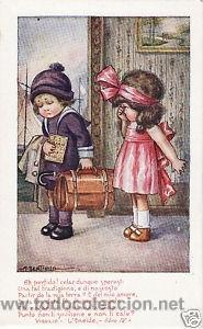 Postales: 17 POSTALES / POST CARD. A. BERTIGLIA. INFANTIL/CHILDREN'S. ITALIA. 1919.NO CIRCULADA / NON POSTED - Foto 2 - 32936205