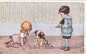 Postales: 17 POSTALES / POST CARD. A. BERTIGLIA. INFANTIL/CHILDREN'S. ITALIA. 1919.NO CIRCULADA / NON POSTED - Foto 3 - 32936205
