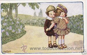Postales: 17 POSTALES / POST CARD. A. BERTIGLIA. INFANTIL/CHILDREN'S. ITALIA. 1919.NO CIRCULADA / NON POSTED - Foto 5 - 32936205