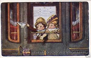 Postales: 17 POSTALES / POST CARD. A. BERTIGLIA. INFANTIL/CHILDREN'S. ITALIA. 1919.NO CIRCULADA / NON POSTED - Foto 8 - 32936205