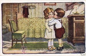 Postales: 17 POSTALES / POST CARD. A. BERTIGLIA. INFANTIL/CHILDREN'S. ITALIA. 1919.NO CIRCULADA / NON POSTED - Foto 9 - 32936205