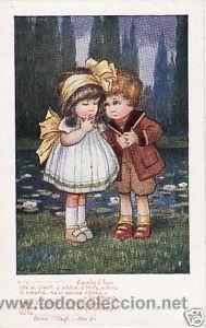 Postales: 17 POSTALES / POST CARD. A. BERTIGLIA. INFANTIL/CHILDREN'S. ITALIA. 1919.NO CIRCULADA / NON POSTED - Foto 11 - 32936205