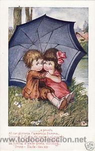 Postales: 17 POSTALES / POST CARD. A. BERTIGLIA. INFANTIL/CHILDREN'S. ITALIA. 1919.NO CIRCULADA / NON POSTED - Foto 14 - 32936205