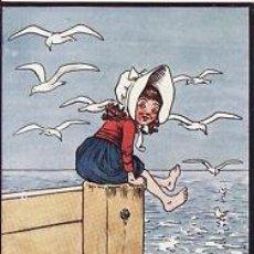 Postales: 2 POSTALES / POST CARD. ESHEFOHEARD. INFANTIL / CHILDREN'S.C. 1915.OILETTE 9940 NO CIRCULADA / NON P. Lote 32947706