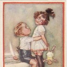 Postales: 6 POSTALES / POST CARD. MAUZAN ILUSTRADOR. INFANTIL / CHILDREN'S.ITALIA 1919. Lote 32947984