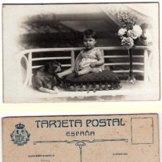 Postales: TARJETA POSTAL CARTÓN DURO, CHINCHILLA, SAN FRANCISCO 17, TARRAGONA. Lote 33028124