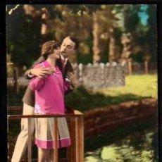 Cartes Postales: POSTAL FOTOGRÁFICA COLOREADA. ROMANTICA .NO CIRCULADA.. Lote 33613537