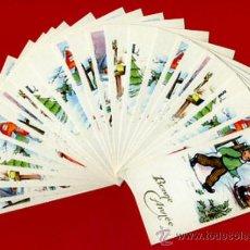 Postales: LOTE DE 25 TARJETAS FELICITACION TEMA NIÑOS , 6 DIFERENTES , ORIGINALES. L18. Lote 34883630
