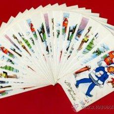 Postales: LOTE DE 24 TARJETAS FELICITACION TEMA NIÑOS , 6 DIFERENTES , ORIGINALES. L17. Lote 34883648