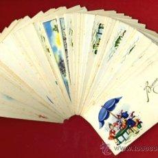 Postales: LOTE DE 90 TARJETAS FELICITACION TEMA NIÑOS , 9 DIFERENTES , ORIGINALES. L16. Lote 34883814