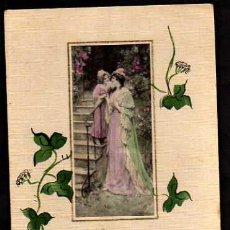 Postales: MADRE Y HIJA. CIRCULADA .1919. Lote 34812561