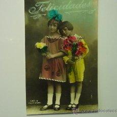 Postales: POSTAL ESCRITA INFANTIL .-ESCRITA FECHADA 1926. Lote 35039412