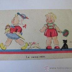 Postales: LA VAMPIRESA ILUSTRADOR J.B.. Lote 35045168