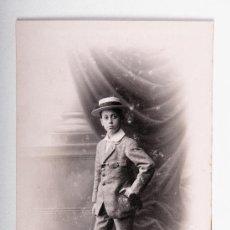 Postales: POSTAL DE NIÑO AÑO 1915, FOTOGRAFO MARINÉ, FOTOGRAFIA EN BLANCO Y NEGRO. Lote 35675358
