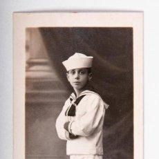Postales: POSTAL DE NIÑO, FOTOGRAFO MARINÉ, FOTOGRAFIA EN BLANCO Y NEGRO. Lote 35675609