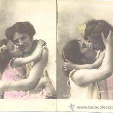 Postales: PS3760 LOTE DE 6 POSTALES FOTOGRÁFICAS DE LA SERIE 'AMOR MATERNO'. PRINC. S. XX. SIN CIRCULAR. Lote 36331881