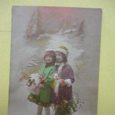 Postales: POSTAL. NIÑAS. FABRICATION FRANCAISE. Lote 38295812