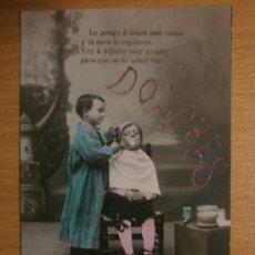 Postales: BONITA POSTAL DE NIÑ0S. LLEVA PURPURINA.. Lote 39168683