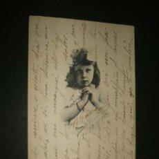 Postales: POSTAL NIÑA 1902. Lote 39169067