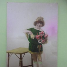Postales: POSTAL ANTIGUA DE NIÑA ED. ROBY.. Lote 40095555