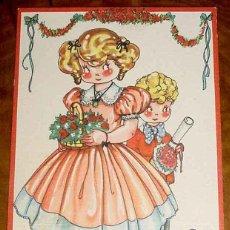 Postales: ANTIGUA POSTAL DE MARI PEPA, DE MARIA CLARET, SERIE K NUM. 9 - ESCRITA EN 1944. Lote 38254597