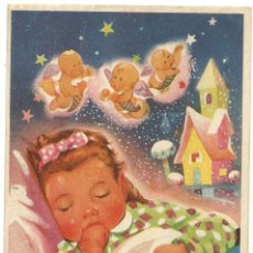 Postales: SOÑANDO CON LOS ANGELITOS, EDICIONES DE ARTE. IKON. BARCELONA. Lote 40388253