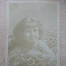 Postales: POSTAL DE 1907, IMAGEN DE NIÑA. Lote 40621829