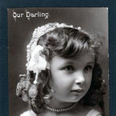 Postales: POSTALES ANTIGUAS DE NIÑOS. BONITA TARJETA POSTAL INFANTIL NIÑA, TEMA NIÑAS. CIRCULADA 1910. Lote 40730521