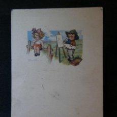 Postales: POSTAL CICULADA ITALIANA PROPIEDAD ARTÍSTICA RISERVATA DELL´ANNA GASPARINI MILANO MILÁN 432M 6 . Lote 41153225