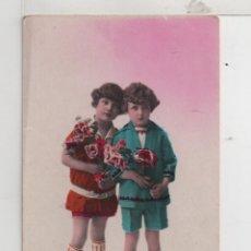 Postales: PRECIOSA POSTAL DE NIÑOS FRANCIA ESCRITA VER FOTO ADICIONAL . Lote 41279346