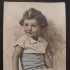 Postales: POSTAL DE FELICITACIÓN DEL AÑO 1937. CIRCULADA. Lote 41560267