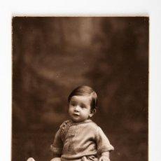 Postales: POSTAL DE NIÑO FOTOGRAFIA EN BLANCO Y NEGRO, FOTOGRAFO NIEPCER. Lote 42552740