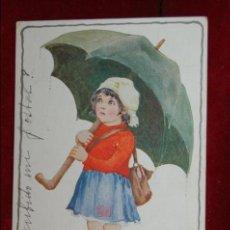 Postales: ANTIGUA POSTAL INFANTIL DEL ILUSTRADOR MILLICENT SOWERBY. CIRCULADA. Lote 42705771