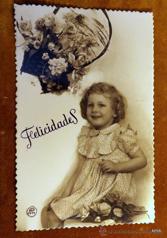 NIÑOS TARJETA POSTAL (Postales - Postales Temáticas - Niños)