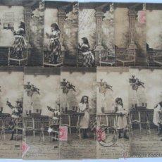 Postales: EL JILGUERO DE LULU - ESCRITAS 1903 - CON SELLOS - CIRCULADAS. Lote 43493635