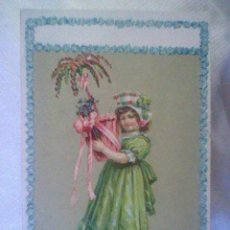 Postales: POSTAL 1909 MUCHACHA EN RELIEVE ESCRITA MADE IN GERMANY (B6). Lote 44138610