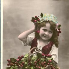 Postales: POSTAL NIÑA. SAZERAC PHOT. SERIE 85. CA 1910.. Lote 44427231