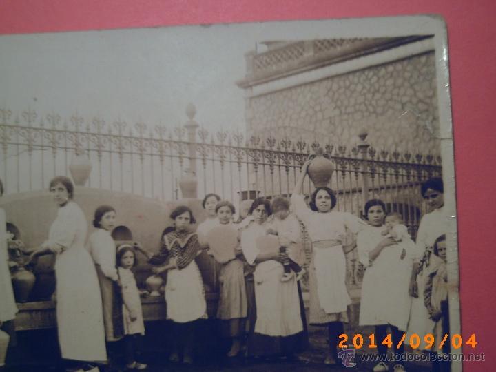 Postales: MUCHACHAS AGUADORAS CON CANTAROS EN LA FUENTE JUNTO A REJA DE ESTACIÓN? - DORSO CALLE REUS A MANO - - Foto 5 - 32591754