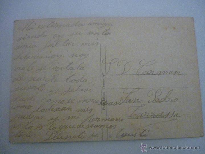 Postales: PRECIOSA POSTAL EN COLOR. FRANCESA. SERIE 436 EDITOR. GLORIA. CIRCULADA 1901 - Foto 2 - 45488174