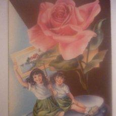 Postales: POSTAL EN COLOR. ESPAÑA. C. VIVE 4. EDITOR CYZ SERIE 525/B 1961. Lote 45488268