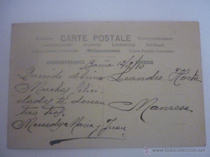 Postales: FOTOGRAFIA-POSTAL EN COLOR. FRANCESA. EDITOR ARS PARIS SERIE 205 AÑO 1905 - Foto 2 - 45488417