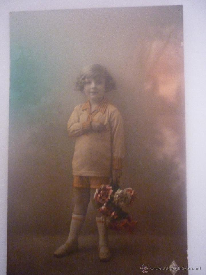 PRECIOSA POSTAL EN COLOR. FRANCESA. EDITOR ARS PARIS SERIE 4662 AÑO 1905 (Postales - Postales Temáticas - Niños)