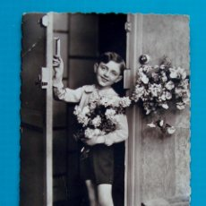 Postales: FOTO POSTAL DEDICADA AÑO 1935. Lote 45661213