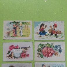 Postales: POSTALES INFANTILES - ANTIGUAS POSTALES INFANTILES AÑOS 50. Lote 45946935