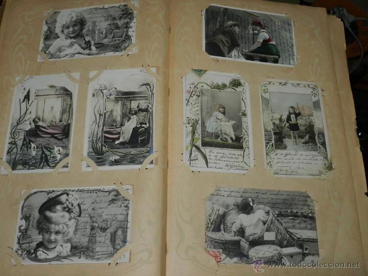 Postales: ALBUM DE TARJETAS POSTALES CON 130 POSTALES. LA GRAN MAYORIA DE NIÑOS CON DISEÑOS MODERNISTAS, PERO - Foto 3 - 46164386