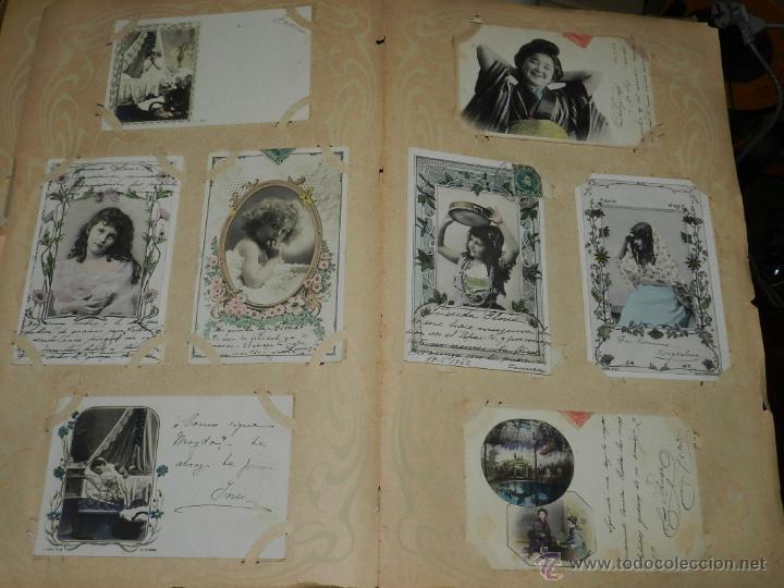 Postales: ALBUM DE TARJETAS POSTALES CON 130 POSTALES. LA GRAN MAYORIA DE NIÑOS CON DISEÑOS MODERNISTAS, PERO - Foto 4 - 46164386