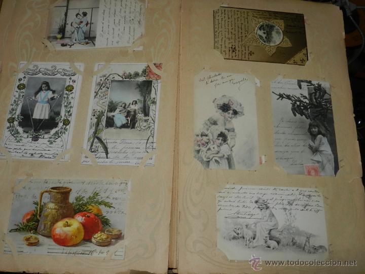 Postales: ALBUM DE TARJETAS POSTALES CON 130 POSTALES. LA GRAN MAYORIA DE NIÑOS CON DISEÑOS MODERNISTAS, PERO - Foto 5 - 46164386