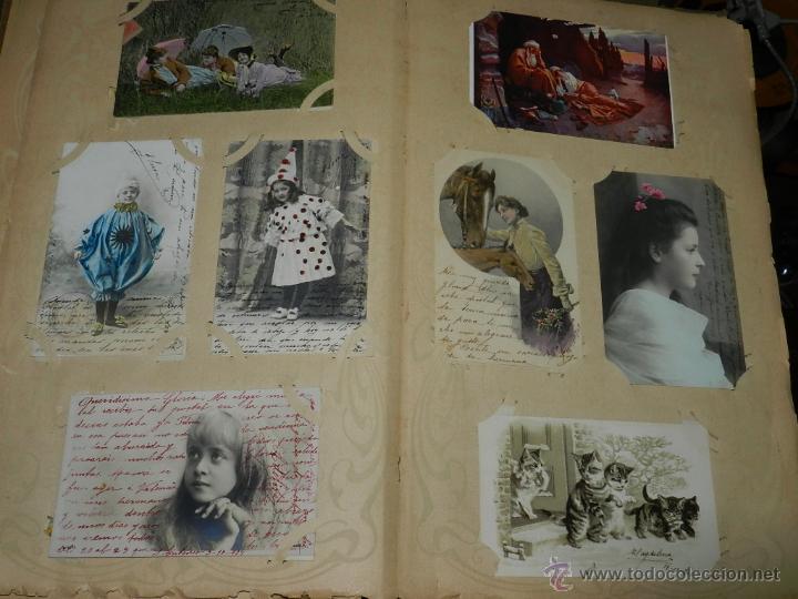 Postales: ALBUM DE TARJETAS POSTALES CON 130 POSTALES. LA GRAN MAYORIA DE NIÑOS CON DISEÑOS MODERNISTAS, PERO - Foto 6 - 46164386
