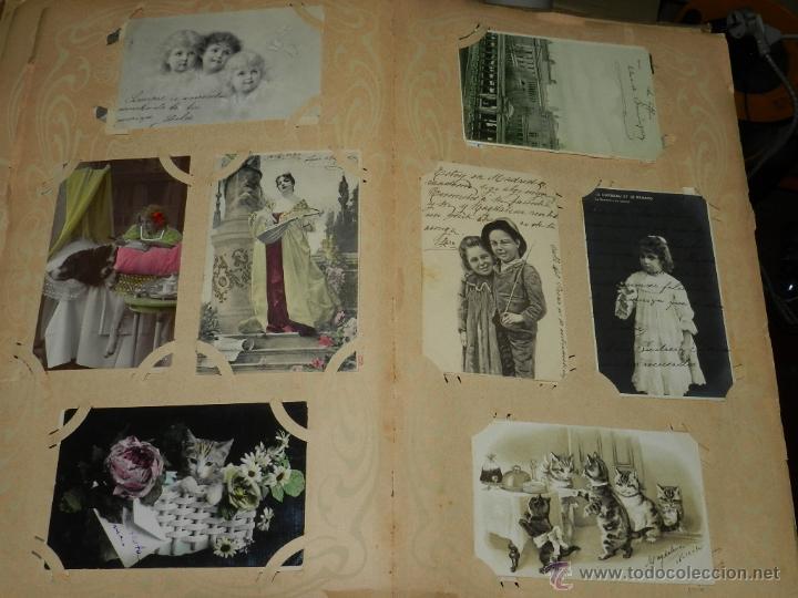 Postales: ALBUM DE TARJETAS POSTALES CON 130 POSTALES. LA GRAN MAYORIA DE NIÑOS CON DISEÑOS MODERNISTAS, PERO - Foto 9 - 46164386